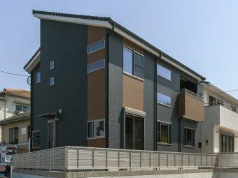 スタイリッシュなデザインのH邸
