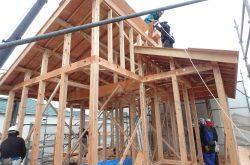 野芥7丁目【O様邸】 建築リポートNo2           建て方【上棟・屋根】