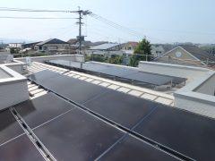 長住4丁目【Y様邸】 建築リポートNo8           【太陽電池モジュール設置】