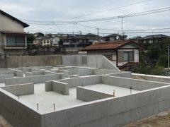 東区若宮2丁目【S様邸】 基礎工事(3)
