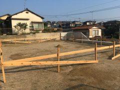 東区若宮2丁目【S様邸】 基礎工事(1)