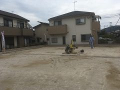 『ガーデンシティ重留』2号地モデルハウス建築開始