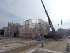 福岡市分譲地/注文住宅【ガーデンシティ重留】6号地 建築リポート(2)
