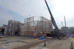 【ガーデンシティ重留】6号地 建築リポート(2)