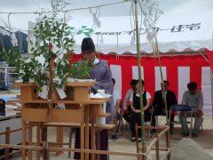 福岡市分譲地/注文住宅【ガーデンシティ重留】5号地 地鎮祭