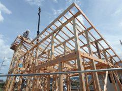 筑紫郡那珂川町道善 こだわりの注文住宅 建築リポート 新築一戸建て住宅の建築工事の流れ(工程)