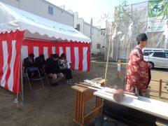 福岡市分譲地/注文住宅【ガーデンシティ重留】8号地 地鎮祭