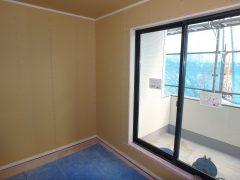 柏原1丁目分譲地◆最新報告◆その1~モデル住宅・木工事