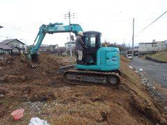 柏原6丁目分譲地◆最新報告◆その2~造成工事